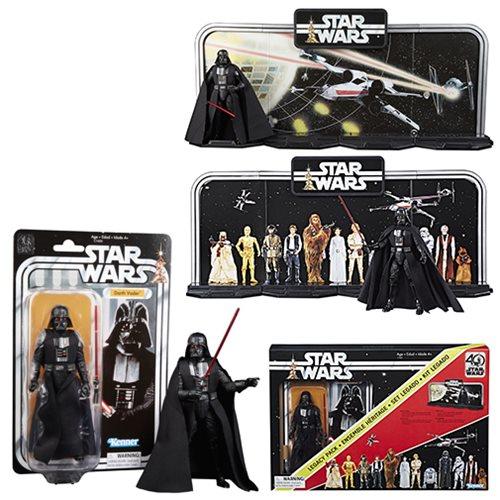 "Star Wars Black Series 40th Anniversary Darth Vader Legacy Pack 6/"" Action Figure"