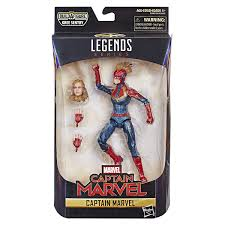Marvel Legends Series Captain Marvel Brand New in Pkg 3.75 inch Ages 4+