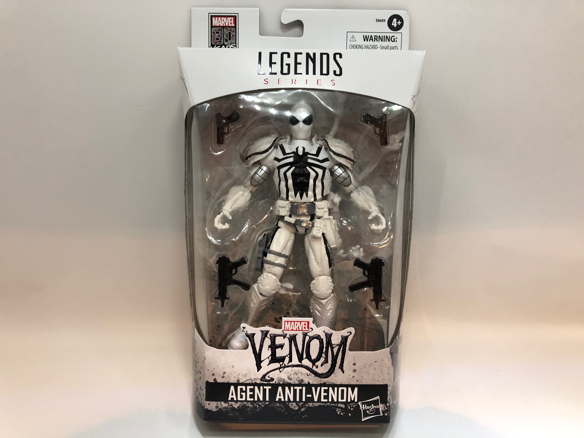 "Hasbro Marvel Legends Series Venom 6/"" inch Agent Anti-Venom Action Figure"