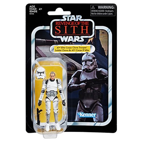 Star Wars The Vintage Collection Elite Clone Trooper 3 75 Inch Action Figure Exclusive Inbox Toys