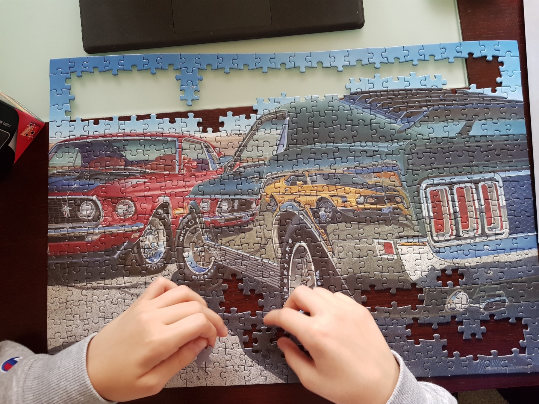 Mustang Puzzle