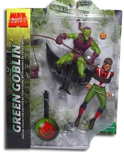 Marvel Select Green Goblin Spider Man Action Figure