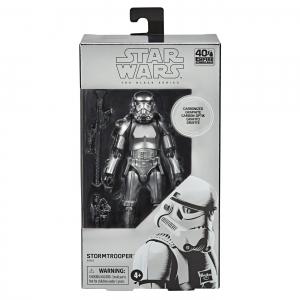 Star Wars Black Series 6-Inch Action Figure Carbonized Stormtrooper