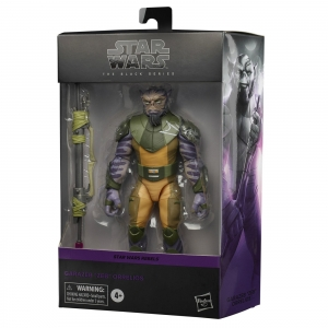 Star Wars Black Series Rebels 6 Inch Deluxe Action Figure Zeb Orrelios