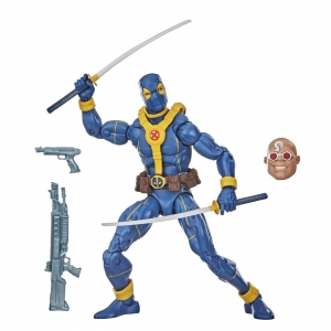 Deadpool Marvel Legends Strong Guy 6-Inch Action Figure Wave 3 Blue Deadpool