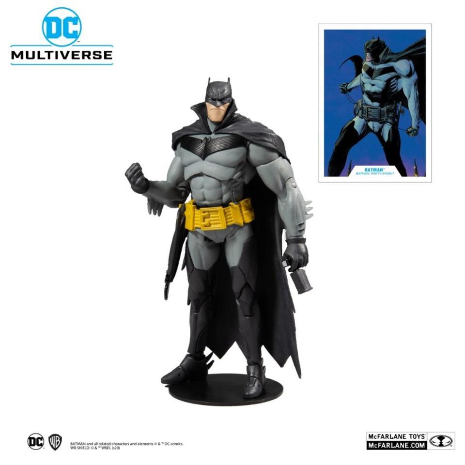 DC Multiverse Batman White Knight Action Figure Batman