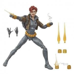 Marvel Legends 6-Inch Action Figure Grey Suit Black Widow