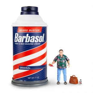 Jurassic Park Barbasol Nedry Action Figure Exclusive