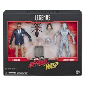 Marvel Legends 80th Anniversary Ghost and Luis 6 Inch Action Figures