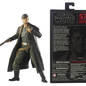 Star Was The Black Series 6 Inch Action Figure DJ Canto Bight (The Last Jedi)