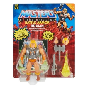 Masters of the Universe Origins 5.5 Inch Action Figure Battle Armor He-Man