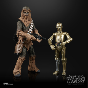 Star Wars The Black Series 6 Inch Action Figure 2 Pack Chewbacca & C-3PO