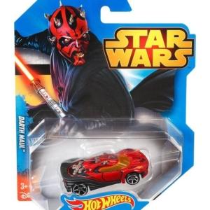 Hot Wheels Star Wars Character Car 1/64th Scale Die-Cast Darth Maul