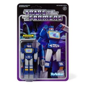 Transformers 3.75 Inch ReAction Figure Soundwave