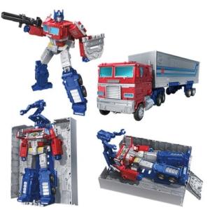 Transformers Earthrise Leader Optimus Prime Trailor