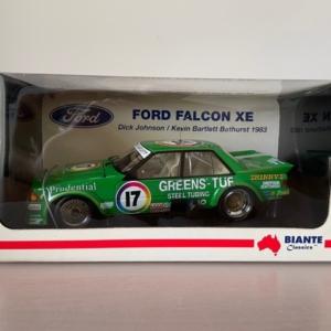 Biante 1:18 Ford EX Falcon #17 Dick Johnson 1983 Bathurst Edition