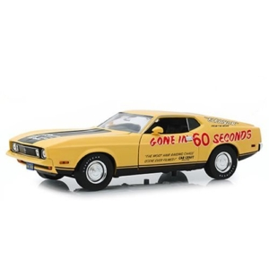 """Gone in Sixty Seconds (1974) - 1973 Ford Mustang Mach 1 """"Eleanor"""" (Post-Filming Tribute Edition) 1:18 Scale Vehicle"""