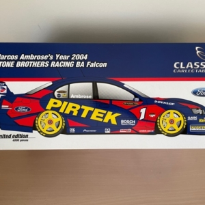 Marcos Ambrose's Year 2004 Stone Brothers Racing BA Falcon Die Cast 1:18 Scale Model Car