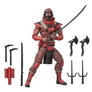 G.I. Joe Classified Series 6-Inch Red Ninja Action Figure