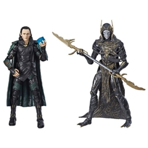Marvel Legends 80th Anniversary 6-Inch Action Figures Loki vs. Corvus Glaive
