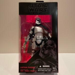 Star Wars Black Series 6 Inch Action Figure Captain Phasma