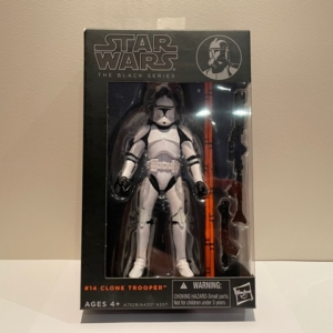 Star Wars Black Series 6 Inch Action Figure Clone Trooper No. 14