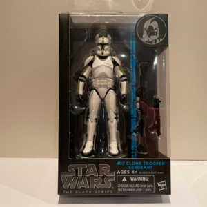 Star Wars Black Series 6 Inch Action Figure Clone Trooper Sergeant No. 7