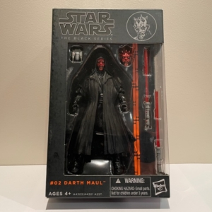 Star Wars Black Series 6 Inch Action Figure Darth Maul No. 2