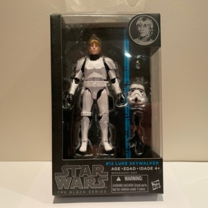 Star Wars Black Series 6 Inch Action Figure Luke Skywalker (Stormtrooper Disguise) No. 12