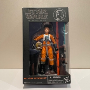 Star Wars Black Series 6 Inch Action Figure Luke Skywalker X-Wing Pilot No. 1