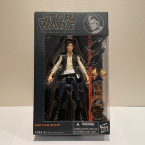 Star Wars Black Series 6 Inch Action Figure Han Solo No. 8